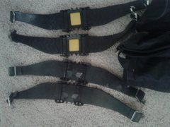 Brand New Strap on Crampons <br />Light Weight- perfect for the Sierra  <br />Good for Five Ten Runners use on easy glacier approaches, 3 pairs, $15 each