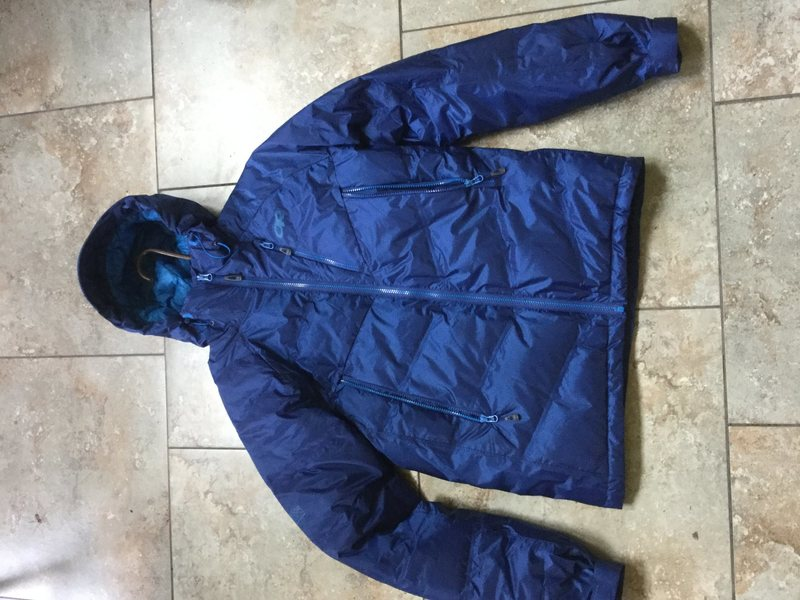 Size small OR floodlight jacket, men's