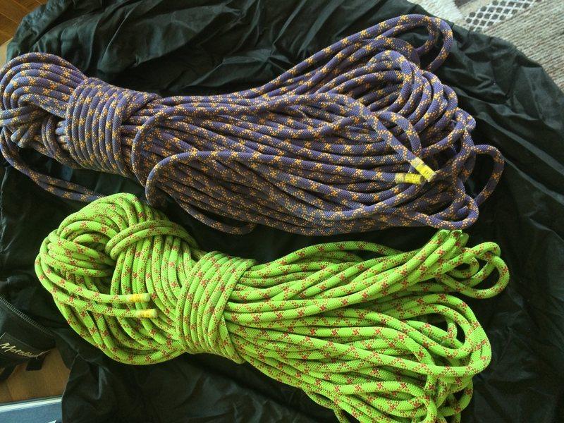 Rock Climbing Photo: Evo Duetto ropes