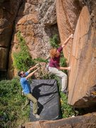 Rock Climbing Photo: Some high-quality problems if you're willing to bu...