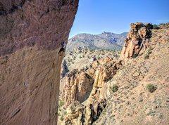 Rock Climbing Photo: Monkey