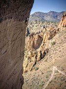 Rock Climbing Photo: Spank