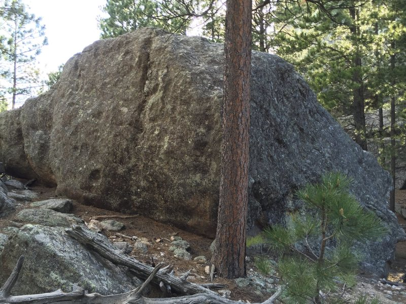 Rock Climbing Photo: Fun slab problems up back and a another v2 on the ...