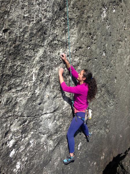 Small crimps, delicate climbing, FUN!