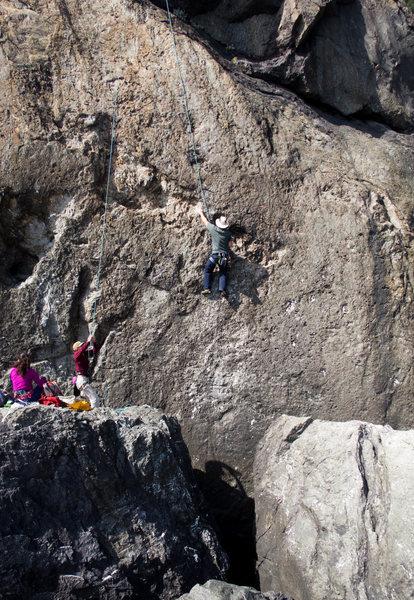 Rock Climbing Photo: Cave Dweller