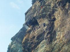 Rock Climbing Photo: Guilty Pleasure, second pitch