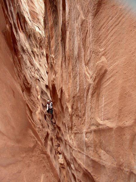 Unknown Escalante slot canyon.