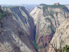 Rock Climbing Photo: Heaps Canyon, Z.N.P.