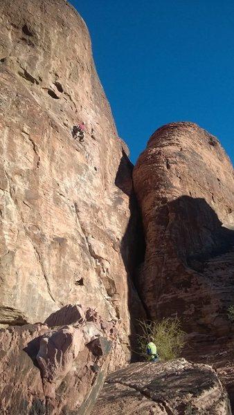 Rock Climbing Photo: Mr Choades Wild Ride - Red Rocks NV