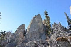 Rock Climbing Photo: Natucket Sleighride as seen from the road
