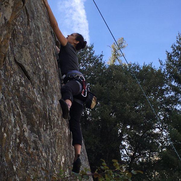 Rock Climbing Photo: Michaela!