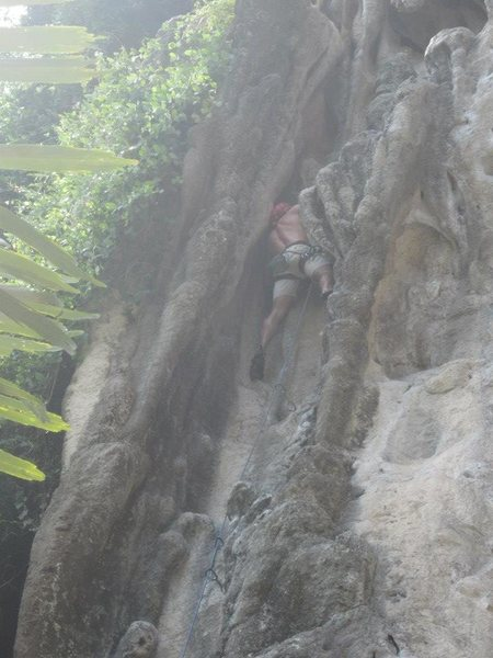 Rock Climbing Photo: I remember this being on the far left.  Is it Hang...