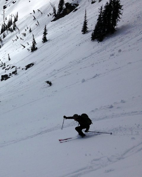 Rock Climbing Photo: skiing