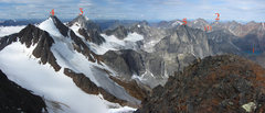 Rock Climbing Photo: This image was taken by Jeff Achey from the summit...
