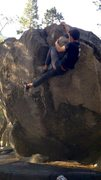 Yosemite V0 at Sentinel Boulders