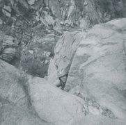 Rock Climbing Photo: Glen Banks on the Northwest Ridge of the Citadel i...