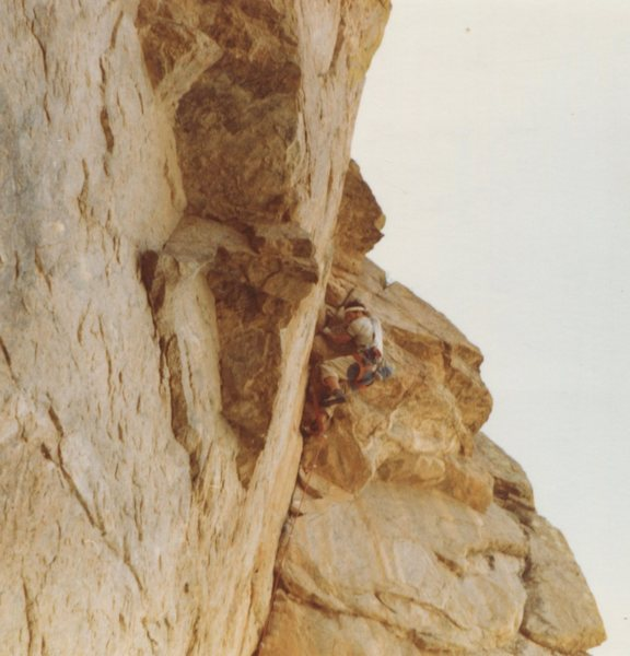 Rock Climbing Photo: Sultans of Swing--early 1980s?