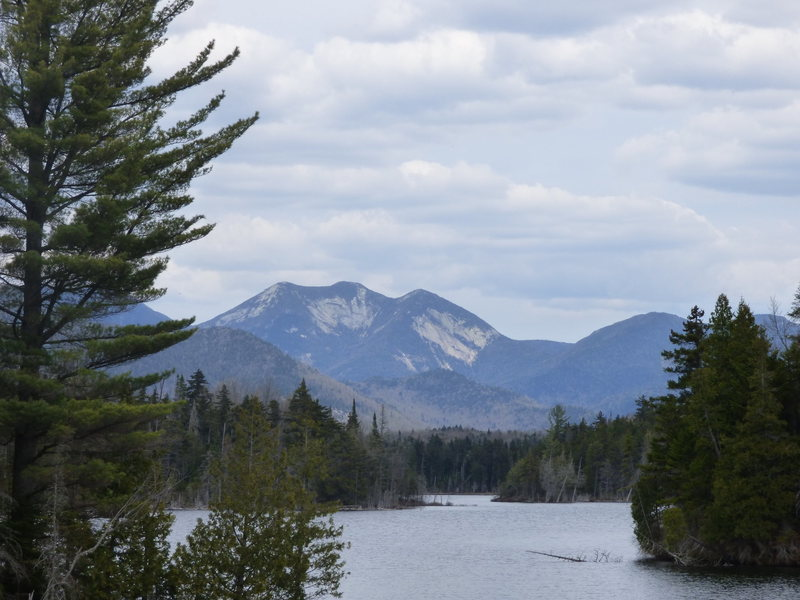 Gothics from the recently purchased Boreas Ponds tract, featuring the Gothics South Face and the Pyramid Face