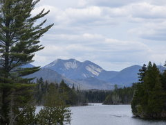 Rock Climbing Photo: Gothics from the recently purchased Boreas Ponds t...