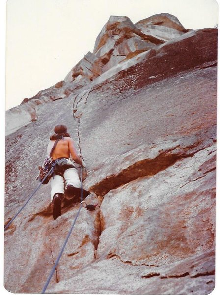 Rock Climbing Photo: Rostrum p4