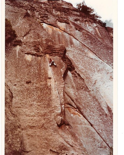 Rock Climbing Photo: Fish Crack