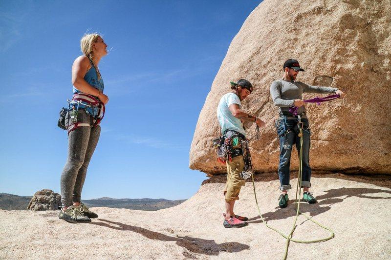 Rock Climbing Photo: Intersection Rock