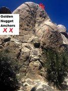 Rock Climbing Photo: Golden Nugget Anchors