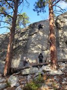 Rock Climbing Photo: Great Route