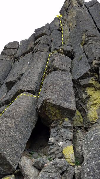 Rock Climbing Photo: The Sorcerer.