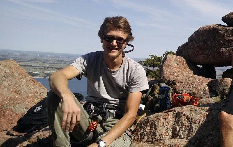 Rock Climbing Photo: Wichita Wildlife Refuge