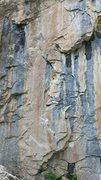 Rock Climbing Photo: Route photo.