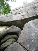 Rock Climbing Photo: Z-Crack. A pretty powerful climb, lots of fun.
