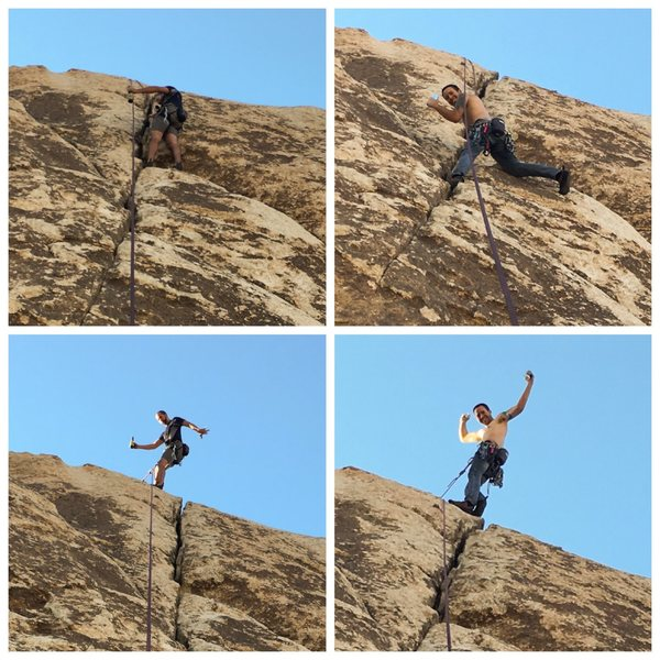 First B6 climb and on the same day the ABCA was formed!