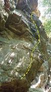 Rock Climbing Photo: Rest in Peace topo