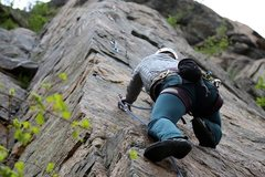 Rock Climbing Photo: Gondolier Arete, Canal Zone, Clear Creek