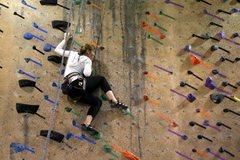 Rock Climbing Photo: Gym climbing