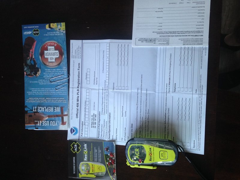 Rock Climbing Photo: The device and all registration paperwork, instruc...