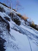 Rock Climbing Photo: On what was our 2nd pitch, should be your 3rd. The...