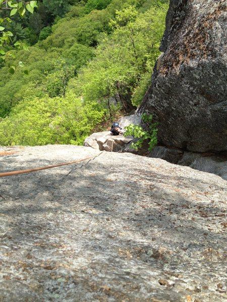 Rock Climbing Photo: Upper Refuse