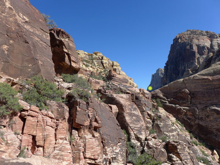 Rock Climbing Photo: the Olive Oil saddle (if you're using the walk-off...