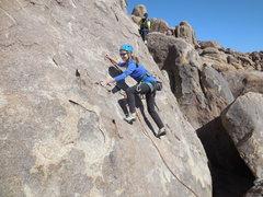 "Rock Climbing Photo: Cruising on ""Chiclets."""