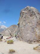 Rock Climbing Photo: Butterfingers.