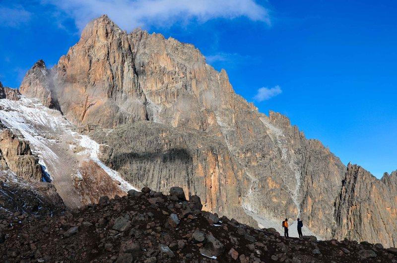 Massive mountain