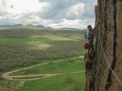 Rock Climbing Photo: Delicious traverse