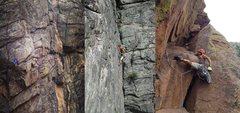 Rock Climbing Photo: Various routes