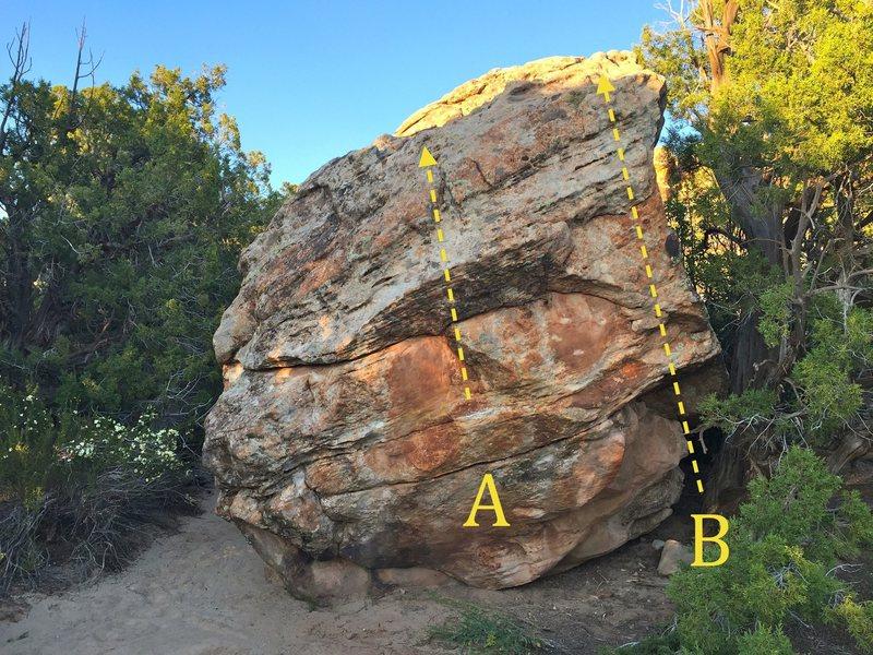Rock Climbing Photo: A) Circuit Breaker B) Power Outage