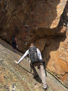 Rock Climbing Photo: Get ready for some steep belays.  Might find a cou...