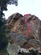 Rock Climbing Photo: Angle of Repose