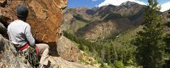 Rock Climbing Photo: View from ANGLE OF REPOSE belay