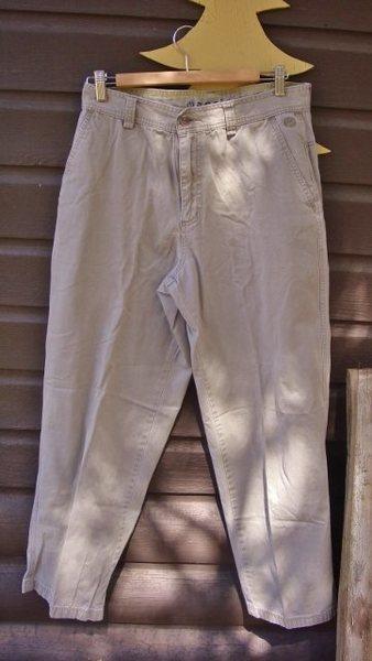 TNF cotton twill pants.